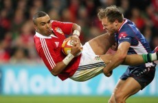 Rebels player suspended for 1 match for dangerous tackle on Simon Zebo