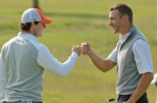 Shevchenko and Rory McIlroy: together at last at the Irish Open