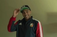 Simon Zebo took us on a tour of his Lions crib… here's what we learned