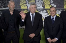 Zidane announced as Ancelotti's assistant at Real Madrid