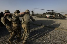 Majority of injured US troops not wounded in combat