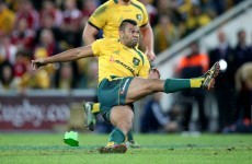 Coach gives Wallabies goalkicking lessons from South Africa... on Skype