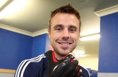 'It feels good' -- Tommy Bowe on the hurling glove helping him line out for the Lions