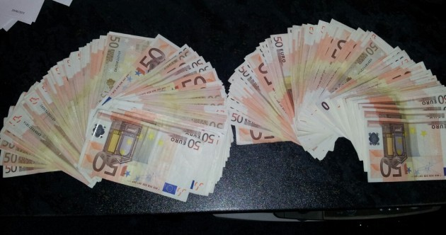 €20,000 in cash hidden in couple's clothes seized at Knock Airport