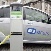 There are five times as many charge stations in Ireland as electric cars