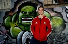 The Incredible Welsh Hulk eager to take it to Australia and close out series
