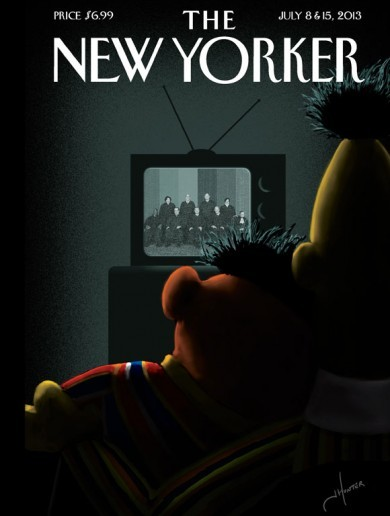 Aww: Bert and Ernie make the cover of The New Yorker in gay marriage celebration