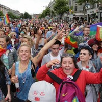 Photos: Thousands take to the streets for Pride parade