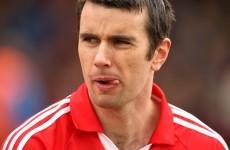 Cork's Brian Murphy set to miss Munster final after suffering shoulder injury