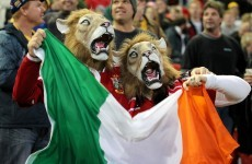 12 of the best Irish flags on the Lions tour to Australia
