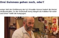 German TV station airs Healy Rae drink-drive segment