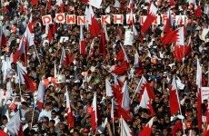 Protesters descend on Bahrain Prime Minister's office demanding reform