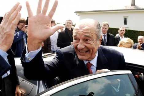 Jacques Chirac (file photo)