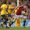 Lions 7 jersey a straight shoot-out between Sean O'Brien and Justin Tipuric