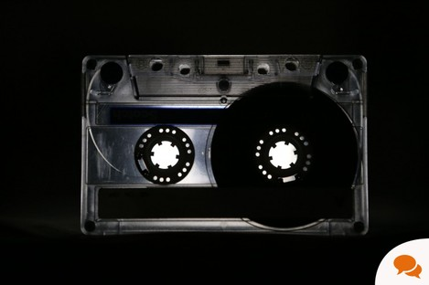A picture of a cassette tape as Government ministers were unaware that conversations between former Anglo Irish bankers were recorded.