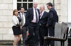 Four Fine Gael rebels will lose committee memberships... and their offices