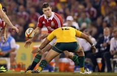O'Driscoll and Heaslip axed as Alun Wyn Jones gets Lions captaincy for Third Test