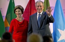 Laura Bush: George once drove into a wall after I told him his speech was no good