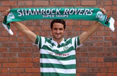 Eamon Zayed is back in the Airtricity League — with Shamrock Rovers