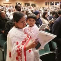 PICS: 4,500 become Irish citizens in giant ceremony