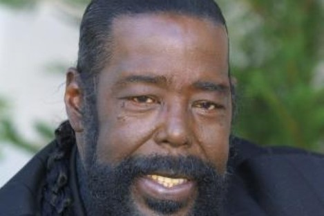 The late Barry White, known for his distinctive bass voice. White died in 2003 leaving behind two-ex-wives, a lover and nine children.