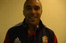 Can you guess who Simon Zebo and his Lions team-mates are impersonating?