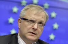 Rehn asks Germany for flexibility on Ireland's bailout rate