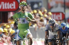 Sprint finish: Sagan treats rivals to a tactical masterclass