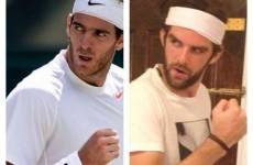 Here's your 'Cillian Sheridan = Juan Martin Del Potro' Pic of the Day