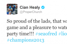 How Twitter reacted to the Lions' victory over Australia