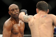 Anderson Silva was asking to be knocked out last night... and that's exactly what he got