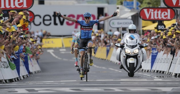 Sprint Finish: Ireland's Dan Martin takes superb stage win