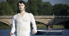 Giant statue of Mr Darcy unveiled in London park