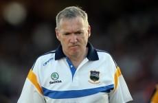 Dáithí Regan: No positives for Eamon O'Shea after Tipperary's sorry summer