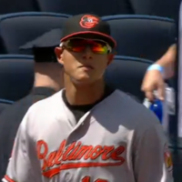 Orioles 3rd baseman puts the 'macho' in Machado with unreal long distance throw
