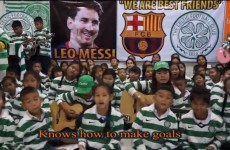 Thai Tims sing about Lionel Messi to the tune of 'The Gambler'