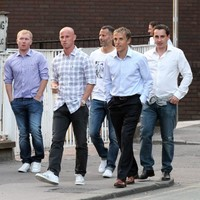 Man United's 'Class of 92' get back together for a night out