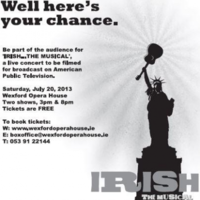 IRISH...THE MUSICAL: The best named show on Earth?