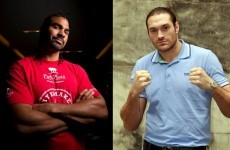 Tyson Fury confirms fight with David Haye