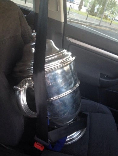 This is how the Dubs look after the Bob O'Keeffe Cup after Sunday's win