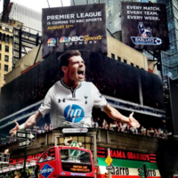 Gareth Bale is kind of a big deal in the US
