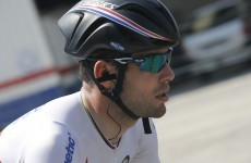 Mark Cavendish had urine thrown at him by a spectator today