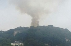 Dramatic-looking fire at Killiney Hill not thought to be serious