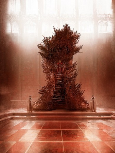 This is what the throne from Game of Thrones should actually look like