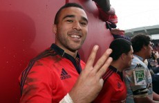 Simon Zebo asked Rob Penney to make him Munster captain