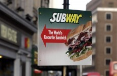 Subway overtakes McDonald's as the world's largest restaurant chain