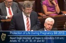 Debate on abortion bill adjourned at 5am