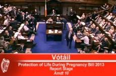 Amendment on fatal foetal abnormality rejected