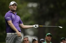 Branden Grace nearly had an incredible hole-in-one today -- on a par 4