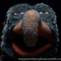 Muppets with human eyes will haunt your nightmares